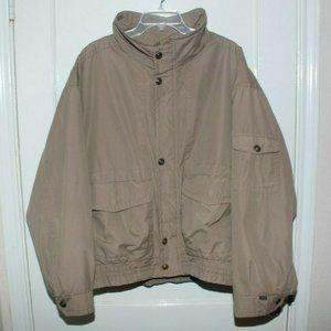 Vintage London Fog Men's Jacket Coat Bomber XL